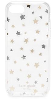 Чехол для iPhone 7 с хаотично расположенными звездами Kate Spade New York