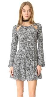 Платье с вырезом Камелия Line & Dot