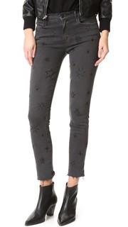 Двойной-необработанным краем очаровательный джинсы Mother