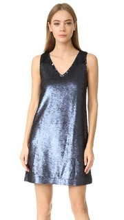 Платье с блестками на Claire Rebecca Minkoff