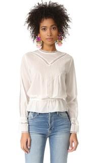 Блуза с кружевными вставками Sonia by Sonia Rykiel