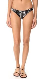 Плавки лифа бикини в горошек ViX Swimwear