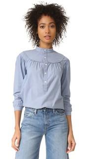 Классические Инголс полоску рубашка A.P.C.