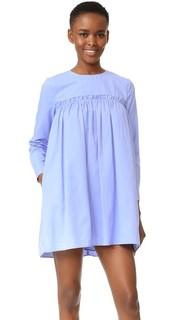 Платье-комбинация со сборками English Factory