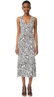Платье без рукавов с V-образным вырезом Narciso Rodriguez