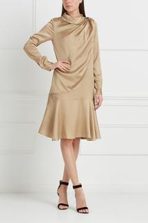 Однотонное платье Bruuns Bazaar