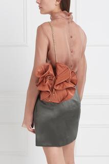 Кожаная сумка Nina Ricci