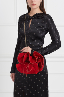 Замшевая сумка Nina Ricci