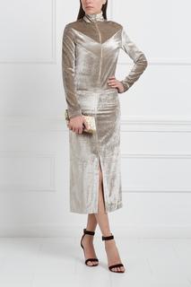 Бархатное платье Nina Ricci