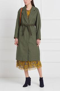 Пальто из хлопка и льна Idony Isabel Marant Etoile