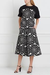 Юбка-брюки с цветочным принтом Tegin
