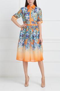 Платье с принтом Nataniel Dobryanskaya