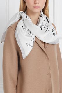 Шелковый платок White cat Radical Chic