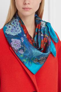 Шелковый платок Hortensia Radical Chic