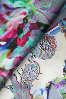 Шелковый платок Illusion Radical Chic