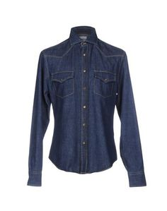 Джинсовая рубашка Brunello Cucinelli