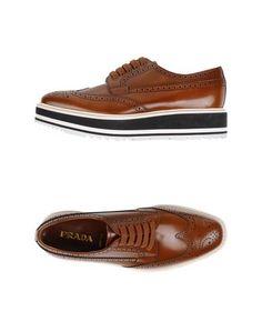 Обувь на шнурках Prada