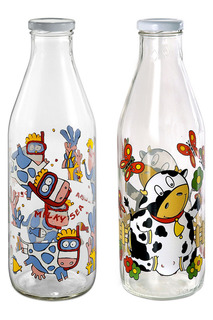 Набор бутылей, 2шт Borgonovo
