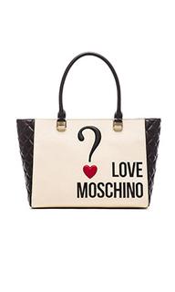 Сумка тоут - Love Moschino