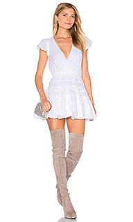 Платье с вышивкой cattleya - Lurelly
