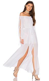 Макси платье santa clara - MAJORELLE