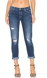 Потертые джинсы в мужском стиле josefina - 7 For All Mankind