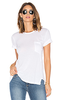 Darted pocket whisper tee - Wilt
