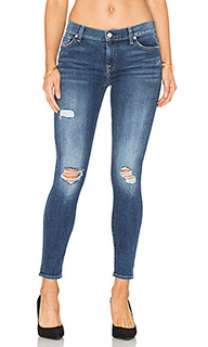 The distressed ankle skinny - 7 For All Mankind