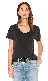 Distressed jersey v neck tee - Bobi