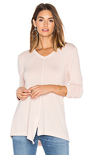 Split slouchy long sleeve tee - Wilt