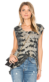 Sleeveless high low tank - Enza Costa