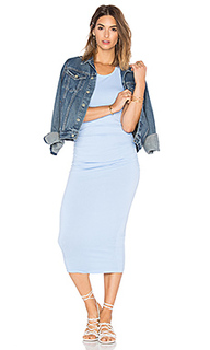 Shirred midi dress - Michael Stars