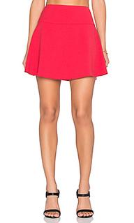 Трапециевидная мини юбка - Red Valentino