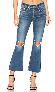 Distressed crop flare - rag & bone/JEAN