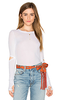 Solomon elbow cut out tee - Michael Lauren