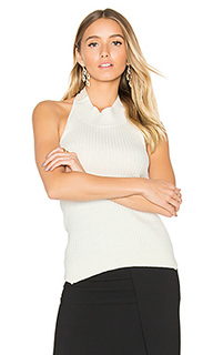 Tie back bib halter top - Christopher Esber