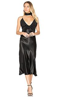 Платье с узлами dune - Christopher Esber