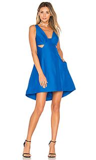 Платье с вырезами - Halston Heritage