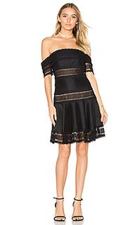 Мини-платье с открытыми плечами salvadore - THURLEY