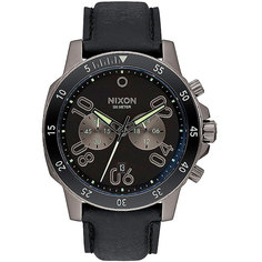 Кварцевые часы Nixon Ranger Chrono Leather Gunmetal/Lum