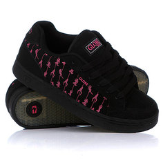 Кеды кроссовки Globe Vice Swyd Black/Hot Pink