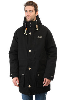 Куртка парка Запорожец Leaf Parka Black