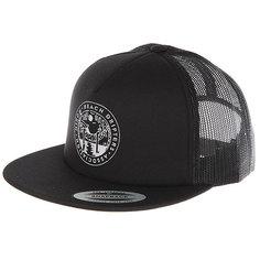 Бейсболка с сеткой Nixon Pop Trucker Hat All Black