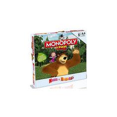 """Настольная игра """"Монополия """"Маша и Медведь"""", Hasbro -"""
