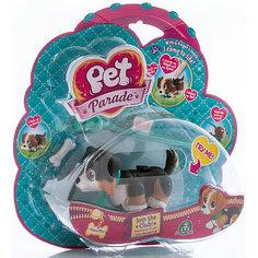 Фигурка собачки в комплекте с косточкой и поводком, Pet Club Parade Giochi Preziosi