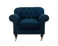 """Кресло """"Kavita dark blue"""""""