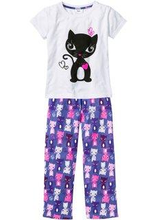 Детская пижама (2 изделия) (розовый/ярко-розовый) Bonprix