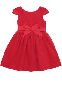 Платье с пышной юбкой и поясом Polo Ralph Lauren