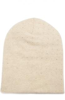 Шапка из кашемира с кристаллами Swarovski William Sharp