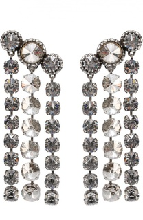 Серьги Mariepol с кристаллами Swarovski Lanvin